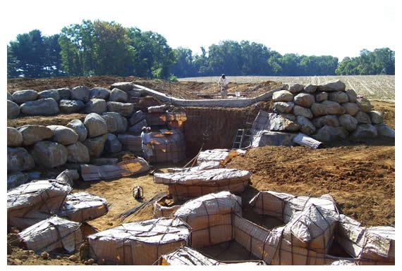 Longford Before, During & After Water Features Construction