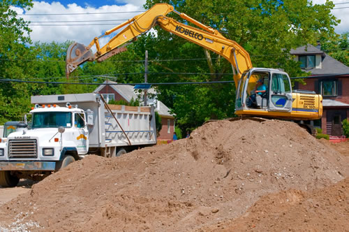 New Jersey Excavation by Longford Landscape